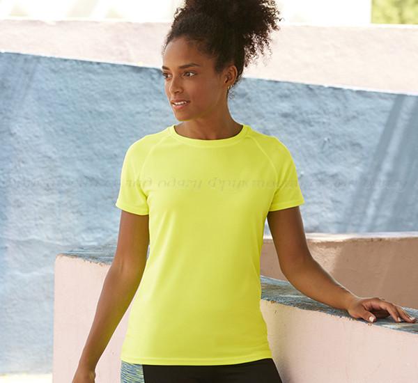 Женская лёгкая спортивная футболка