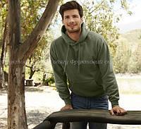 Мужская тёплая кофта з капюшоном толстовка кенгуру