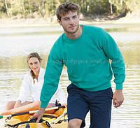 Мужской тёплый реглан с флисовым начёсом свитер кофта