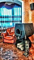 Отопительная конвекционная печь Rud Pyrotron Кантри 00 с варочной поверхностью, фото 3
