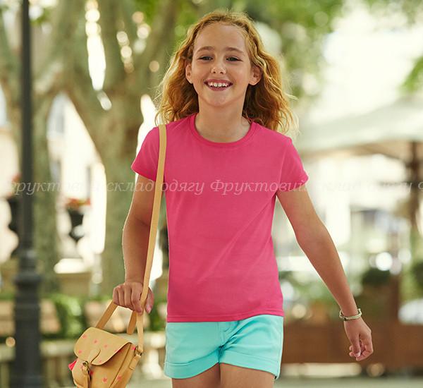 Детская футболка для девочек мягка 100% хлопок