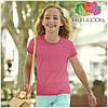 Детская футболка для девочек мягка 100% хлопок, фото 6