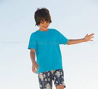 Детская футболка для мальчиков лёгкая 100% хлопок