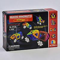 Конструктор магнитный JH 6873 Play Smart, 16 деталей