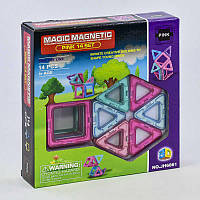 Конструктор магнитный Magic Magnetic JH 6861, 14 деталей