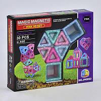 Конструктор магнитный Magic Magnetic, JH 6862, 30 деталей