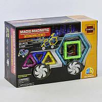 Конструктор магнитный Magic Magnetic JH 6866, 29 деталей, фото 1