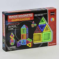 Конструктор магнитный Play Smart JH 6872, 40 деталей