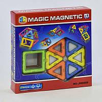 Конструктор магнитный Magic Magnetic JH 6898, 14 деталей
