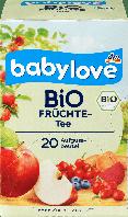 Babylove Bio Babytee Früchte-Детский органический фруктовый чай от 5 мес.