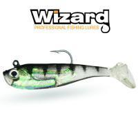 Рыбка силиконовая с крючком Wizard Zander Master 8см Baby Bass 2 шт