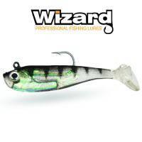 Рыбка силиконовая с крючком Wizard Zander Master 8см Baby Bass 2 шт, фото 2