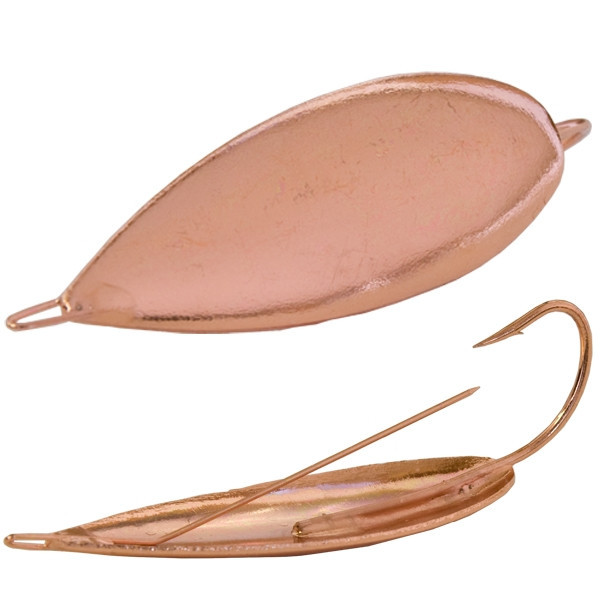 Блесна GS Weedless Spoon Copper (незацепляйка)