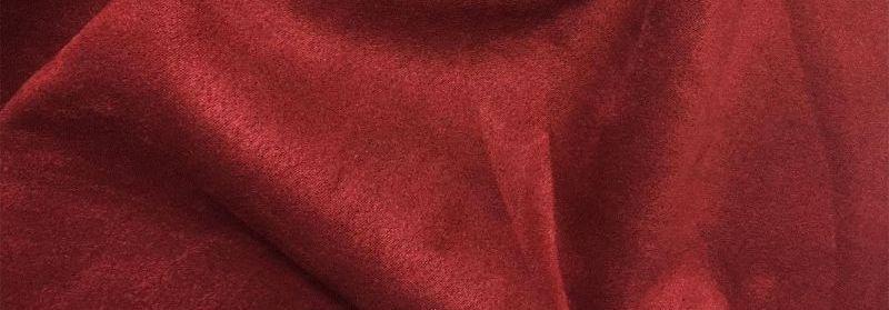 Трикотаж Замша на Дайвинге, Бордовый