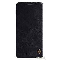 Кожаный чехол-книжка Nillkin Qin Series для Samsung Galaxy A9 (2018) SM-A920F Black