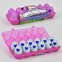 Лоточек с питомцами в яйце 719 (96) 12шт в лотке