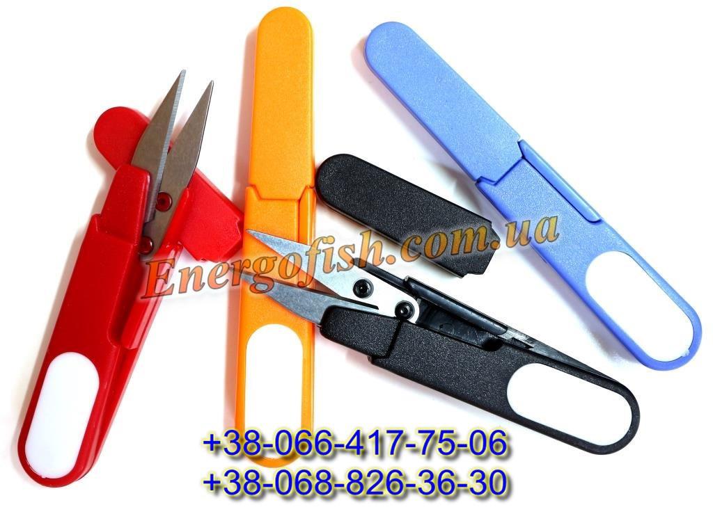 Ножницы для лески/шнура в чехле (24 шт/уп)