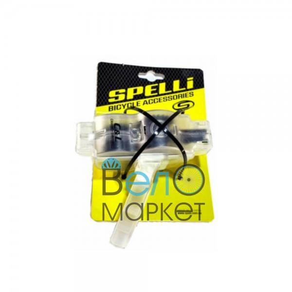 Мийка для вело ланцюга SPELLI SBT-01 на 2 ролика зі знімною ручкою / цепемойка
