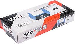 Мікрометр 25-50мм YATO YT-72301, фото 2
