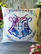 Подушка Диванная Гарри Поттер Хогвартс  Harry Potter для Декора, 45 * 45 см