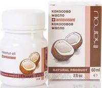 Масло кокосовое для волос - для поддержки здоровой и нормальной кожи, для ухода за волосами (Икаров,60мл)
