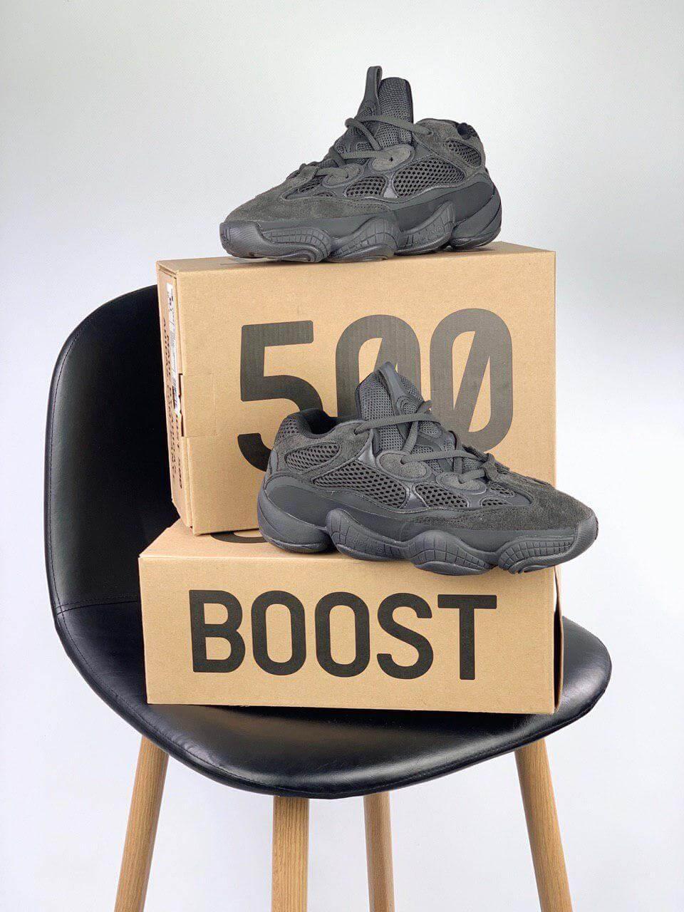 best sneakers aad14 1fc0f Кроссовки Adidas Yeezy 500 Black , цена 1 675 грн., купить в Киеве —  Prom.ua (ID 262987857)