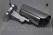Муляж видеокамеры цилиндр ( крепление на стену)