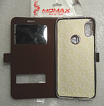 Чехол Книга Momax для Xiaomi redmi note 6 pro Brown, фото 3