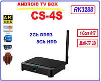 CS4S RK3288 NEW 2015 Android tv 4ядра 2гб DDR3 LAN USB+НАСТРОЙКИ I-SMART