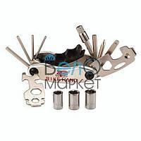 Мульти-ключ мультитул Bike Hand YC-279D для ремонта велосипеда