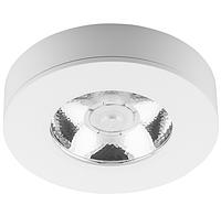 Точечный накладной светильник для шкафов, ниш COB 5Вт AL520 4000K белый круг