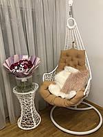 Подвесное кресло Леди, кресло Lady, качели,подвесное кресло, кресло,качеля, садовая качеля. СО СТОЙКОЙ