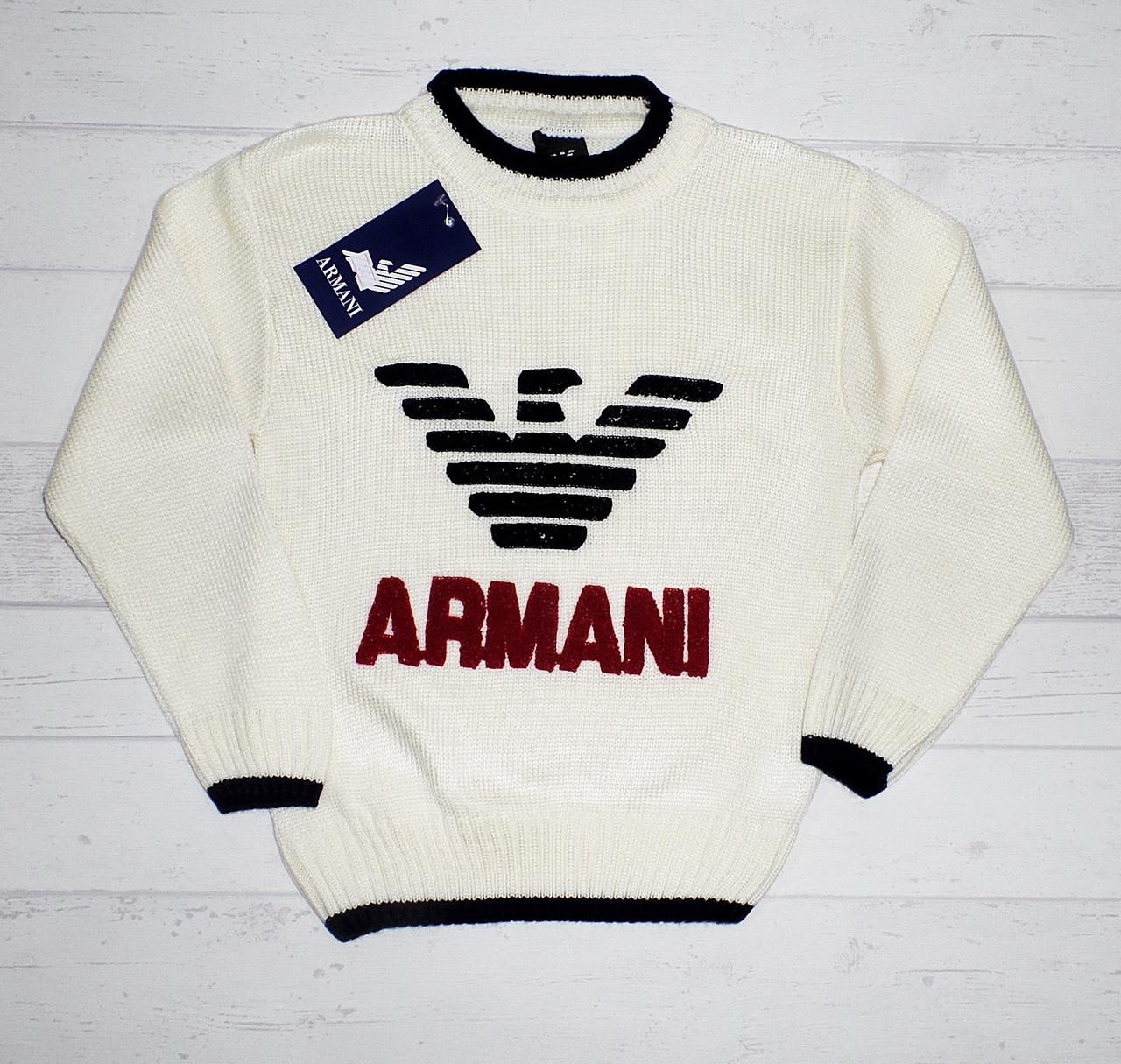 """Детский свитер для мальчика """" Армани """"  3,4,5 лет(реально 5,6,7) 5489612730320"""