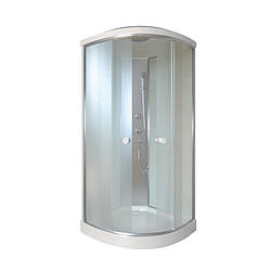 Душевой бокс на мелком поддоне Q-Tap 900*900 мм  (SB9090.1 SAT)