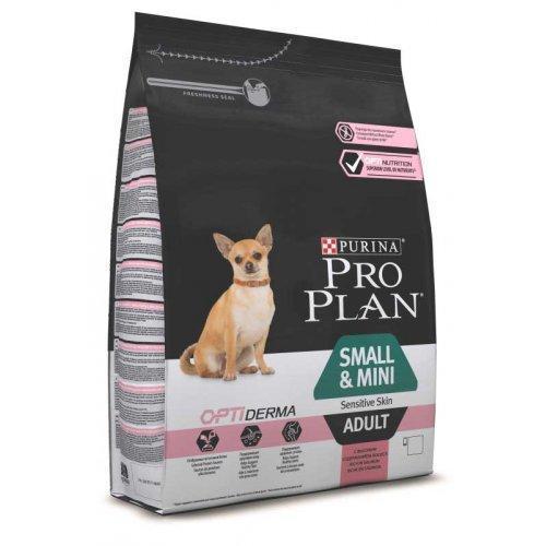 Сухой корм для собак Pro Plan (Про План) Small & Mini 3 кг с лососем  для  взрослых собак мелких пород