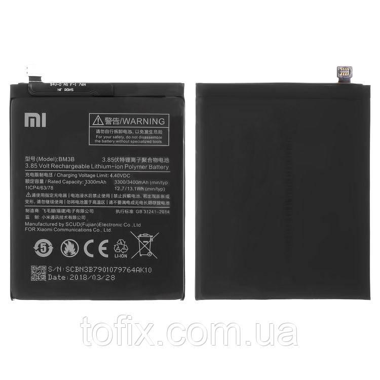 Батарея (акб, аккумулятор) BM3B для Xiaomi Mi Mix 2, 3400 mAh, оригинал