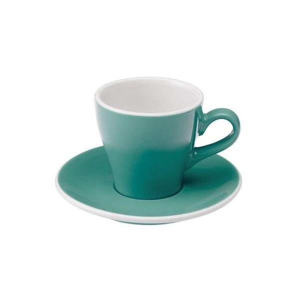 Чашка и блюдце под эспрессо Loveramics Tulip (280 мл  )