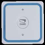 1-канальний пульт дистанційного керування 433,92 МГц, з наст. держателем Came VIVALDI