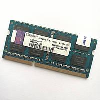 Оперативная память для ноутбука Kingston SODIMM DDR3 4Gb 1333MHz 10600s CL9 (KX830D-HYC) Б/У