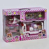 Игровой набор с куклой L.O.L. ЛОЛ 5621, с вертолетом и скорой, фото 1