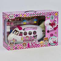 Игровой набор Самолет L.O.L. ЛОЛ  К 5625, 3 куклы