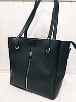 Женская сумка ZARA зеленая