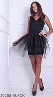 Очаровательное платье-футляр с расклешенной фатиновой юбкой  Ingrid