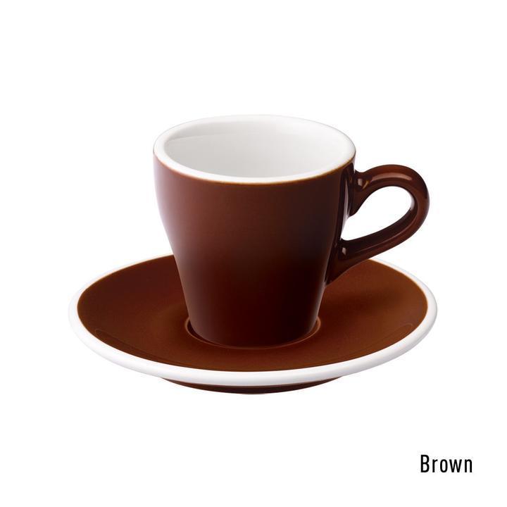 Чашка и блюдце под эспрессо Loveramics Tulip (180 мл  )