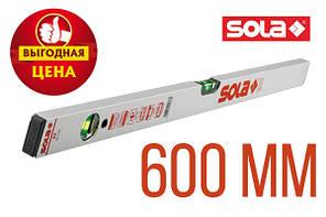 Уровень строительный Sola AV 600 мм