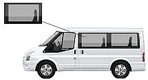 Боковое стекло короткая база Ford Transit 2000-2014 переднее левое
