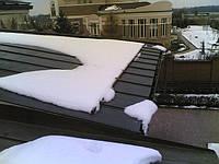 Система снегозадержания стальная окрашенная по RAL