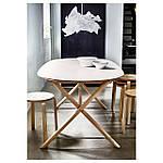 IKEA KRUSNING Абажур, белый  (002.599.14), фото 7