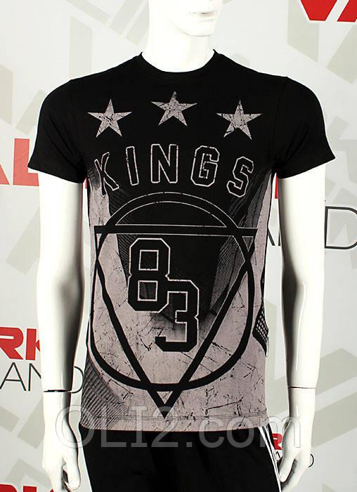 Мужские футболки дизайнерские KING 17006