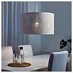 IKEA NYMO Абажур, белый, латунь цвет  (503.408.32), фото 2